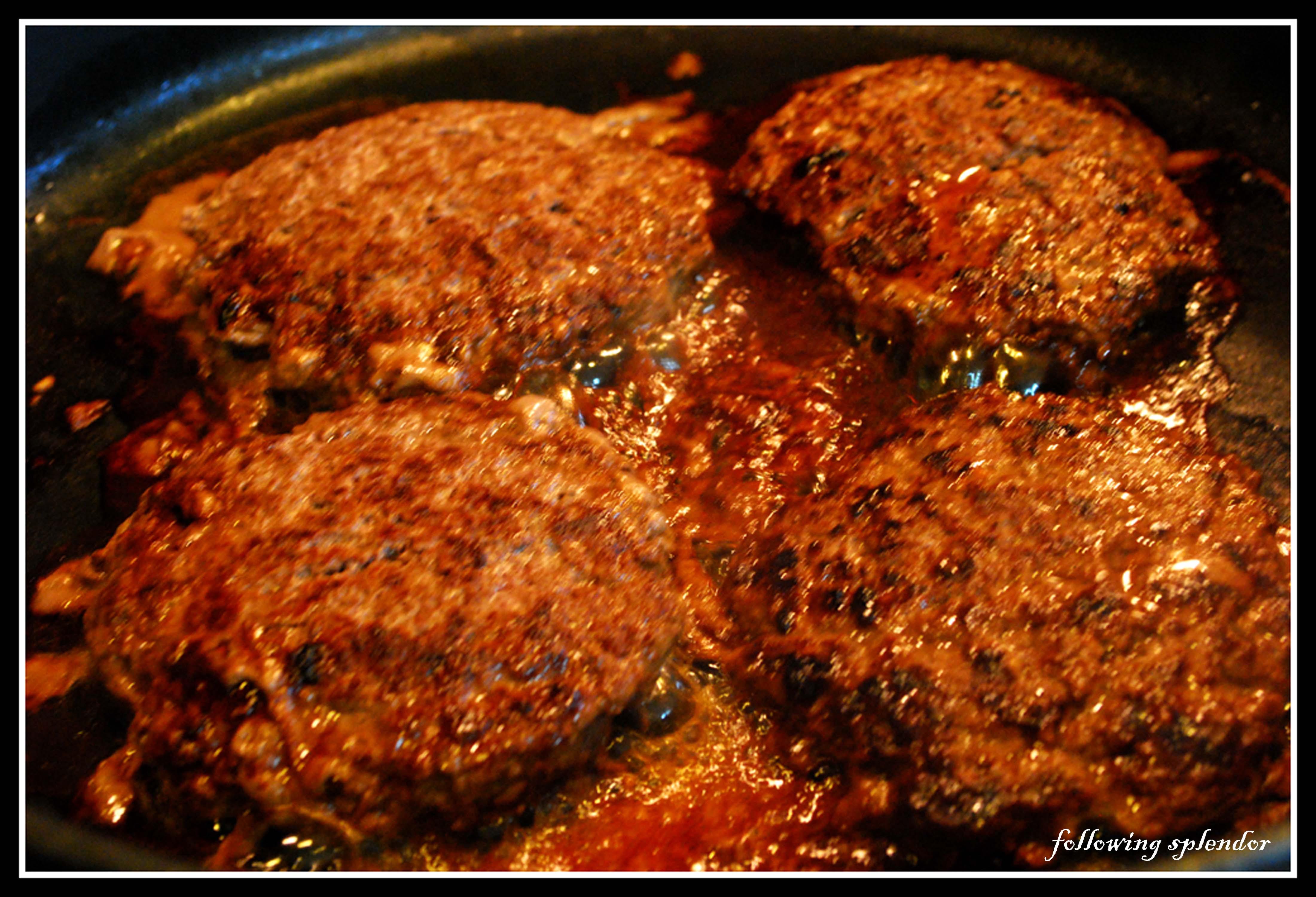 Quick easy hamburger steak recipe